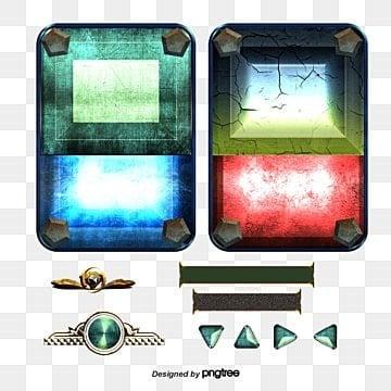 Botones de la interfaz de usuario del juego juego de animacion, Juego, UI, Diseño PNG y Vector