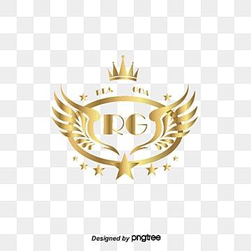 Hardware logo, Hardware Logo, Golden, Logo PNG y PSD