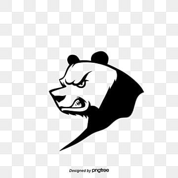 Angry Panda, Cartoon Comics, Animal Illustration, Cartoon Animals PNG and Vector