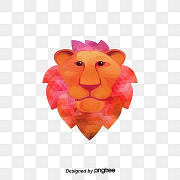 color vector lion, Color Vector, Lion Vector, Lion Clipart PNG and Vector