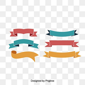Fashion design vector material ribbon tag, Classical Ribbon, Banner Banner, Vector Ribbon PNG and PSD