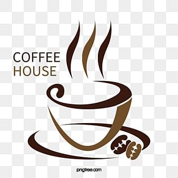Cafe logo, Creative Coffee Logo, Coffee Logo, Cafe PNG y Vector
