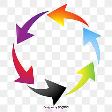 3d arrows png images vectors and psd files free download on pngtree rh pngtree com 3D Arrow Cycle free vector 3d arrows