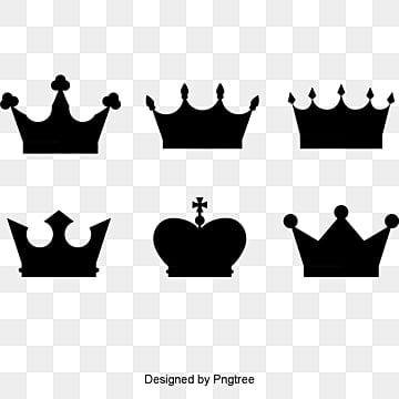 Vector king crown, KING, Imperial Crown, Creative PNG and Vector