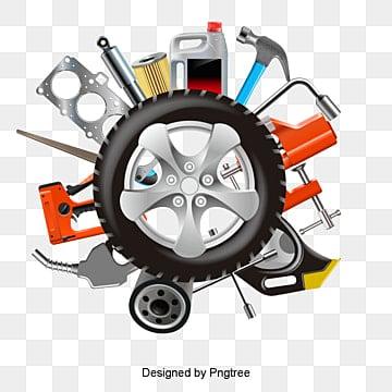 Le vecteur de pièces d'automobile, Des Pièces D'automobile, Pièces Détachées, Le Vecteur De Pièces D'automobilePNG et vecteur