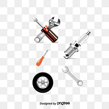 Vector cartoon car parts, Car Parts, Car Parts, Cartoon Car Parts PNG and Vector