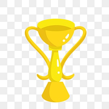 Beautifully Gold Trophy PNG Image And Clipart