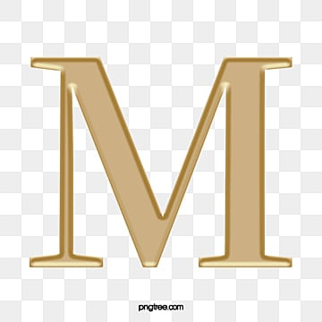 English Letter M Clipart Symbol Punctuation PNG Image And