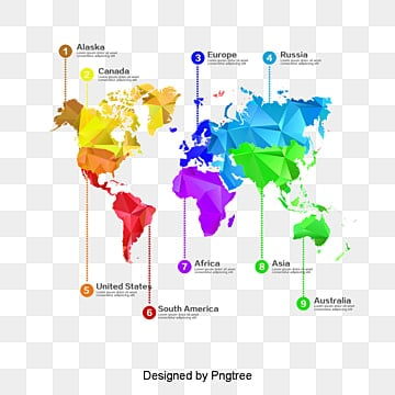 America Map PNG Images | Vector and PSD Files | Free Download on Pngtree