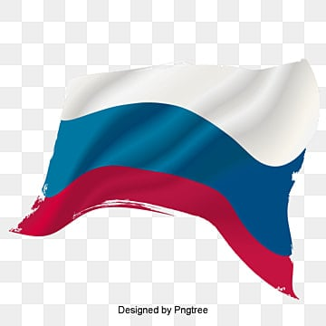 drawing the russian flag vector material, Watercolor, Russia, Flag PNG and PSD