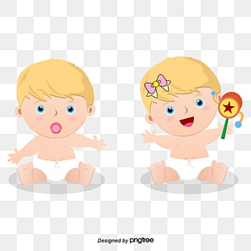 acd9fc69c67 Free Download. cartoon male and female baby baby