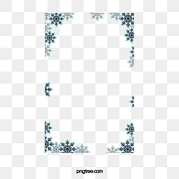 Snowflake Border Png Vectors Psd And Clipart For Free