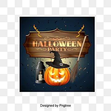 Halloween, Halloween, Chapeau, CitrouillePNG et vecteur