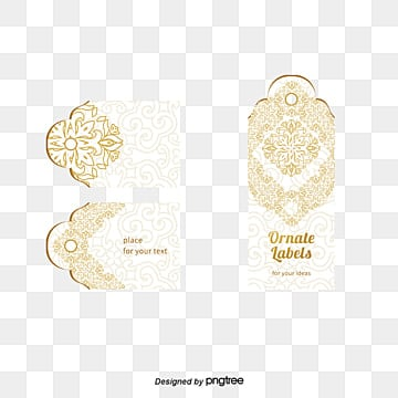 Golden flower pattern, Decorative Motifs, Business Card, Elegant Business Card PNG and PSD
