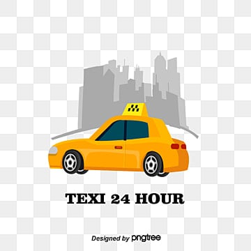 Taxi, Taxi, Vector, Yellow Car PNG and Vector