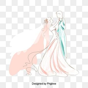 Vector boda, Personajes, La Gente De Ilustración, Personaje PNG y Vector