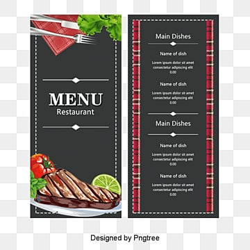 Menu Card Png Vectors Psd And Clipart For Free Download Pngtree