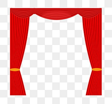 Golden Curtain T Station Stage Catwalk PNG Image And Clipart