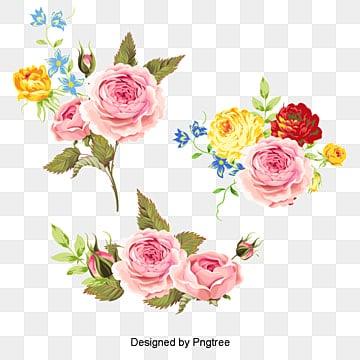 Vecteur peint des fleurs, Les Fleurs, Fleur, Les FleursPNG et vecteur