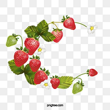 Strawberry Cartoon PNG Images | Vector and PSD Files | Free