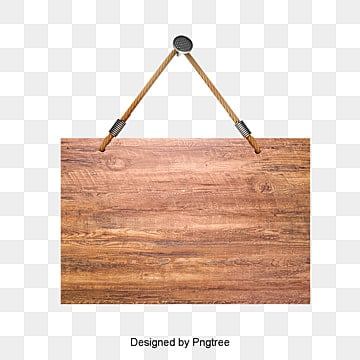 Wooden Sign Hanging Clipart Mupai Billboard PNG Image And