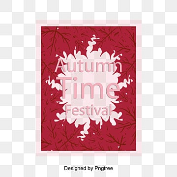 Autumn leaves border, Autumn, Red, Vitality PNG and Vector