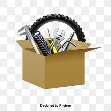 ناقلات صناديق من الورق المقوى وقطع غيار السيارات, كارتون, أجزاء السيارة, كرتون قطع السيارات PNG و فيكتور