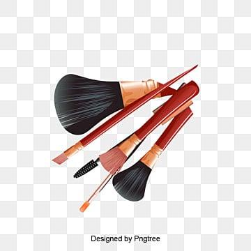 Brush Set Makeup Make Up PNG Image And Clipart