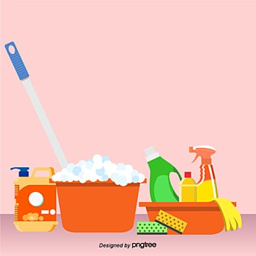 Cartoon Cleaning Tools PNG Images | Vectors and PSD Files ...
