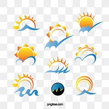 Vector sun, Sun, Logo, Vector PNG and Vector