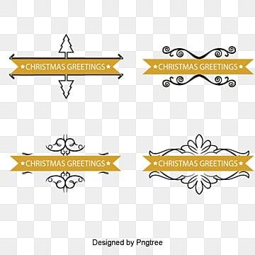 Christmas theme title box, Christmas Theme, Texture Border, Flat PNG Image