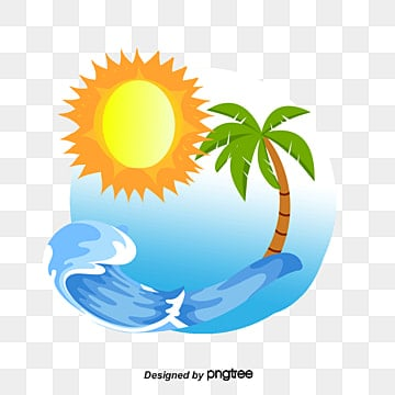 Vector palm waves sun, Coco, Wave, Sun PNG and Vector