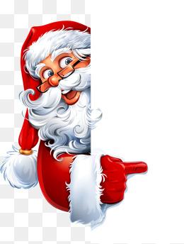 Le père Noël de publicité de vecteur, Le Père Noël De Publicité, Le Père Noël, Le Père Noël De Dessins AnimésPNG et vecteur