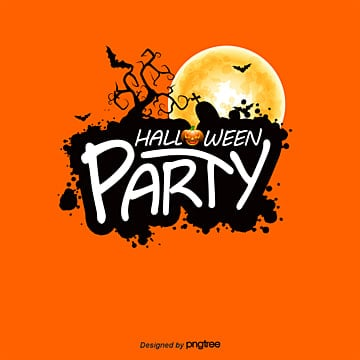 Vector Halloween Party WordArt, Halloween, Creative Vacaciones, Feliz Halloween  PNG y Vector
