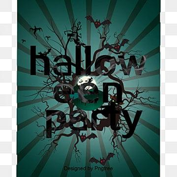 Vecteur d'Halloween des affiches, Vecteur D'Halloween., Joyeux Halloween., HalloweenPNG et vecteur