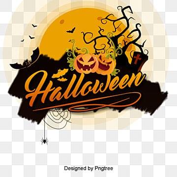 Conception de type vecteur Halloween, Vecteur D'Halloween., Joyeux Halloween., HalloweenPNG et vecteur
