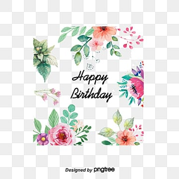 Birthday card png images vectors and psd files free download on vector flowers greeting cards watercolor style flowers birthday card element rose png and bookmarktalkfo Choice Image