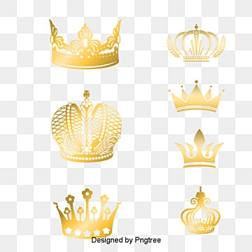 Crown Vector, Golden, Authority, King PNG and Vector
