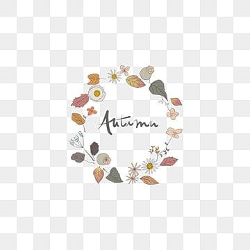 Autumn wreath, Wreath, Nut, Autumn Elements PNG Image