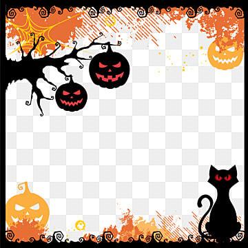 Vector de Halloween., Creative, O Dia Das Bruxas, MolduraPNG e Vector