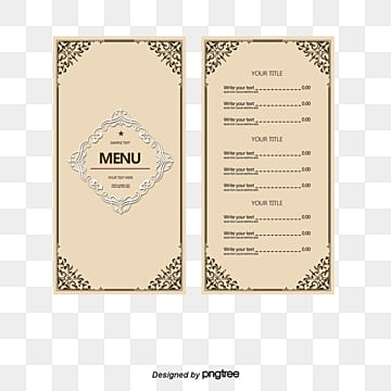 restaurant menu design png vectors psd and clipart for free
