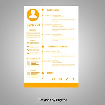 Resume Psd 710 Photoshop Graphic Resources For Free Download
