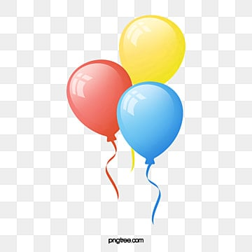 Vector Birthday Balloons Celebrate PNG And