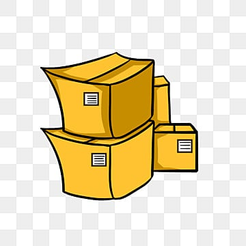 cardboard box png. a lot of cardboard boxes yellow express delivery package png image box png