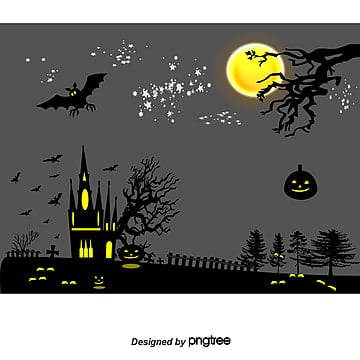 Halloween posters transparent background, Halloween Posters Psd Layered Material, Bat, Crazy Halloween PNG and PSD