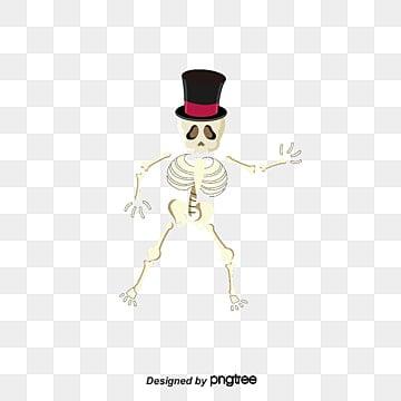 Squelettes d'Halloween, Halloween, Crâne, VecteurPNG et vecteur
