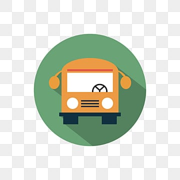 School Bus Clipart Campus PNG Image And