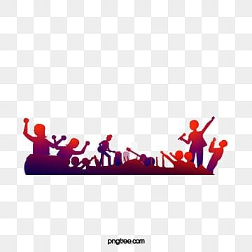 A música, A Silhueta, Instrumentos Musicais, VermelhoImagem PNG