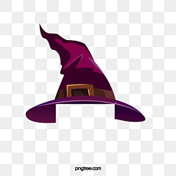 Vector witch hat, HD, Vector, Halloween PNG and Vector