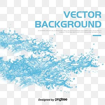 vector splash of water, HD, Vector, Drop PNG and Vector
